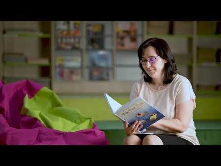 Embedded thumbnail for Videočtení: Ťik, Ťak, Ťuk